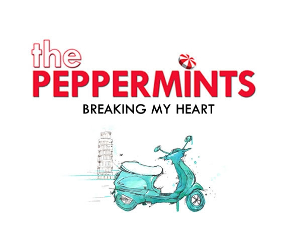 The Peppermints and the Italian symbols